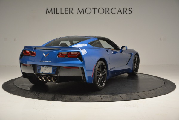 Used 2014 Chevrolet Corvette Stingray Z51 for sale Sold at Bentley Greenwich in Greenwich CT 06830 7