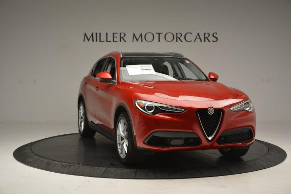 New 2018 Alfa Romeo Stelvio Ti Lusso Q4 for sale Sold at Bentley Greenwich in Greenwich CT 06830 11