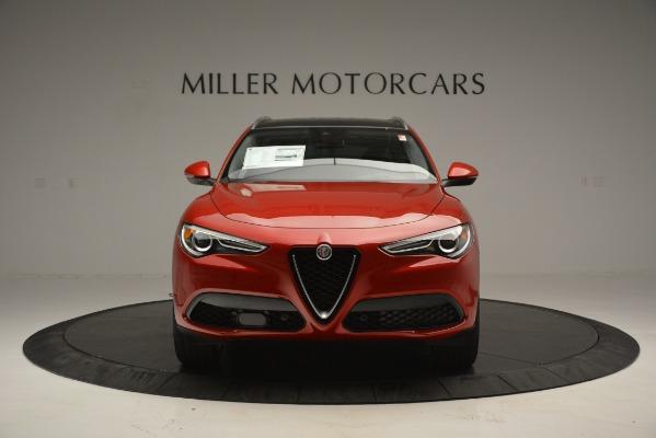 New 2018 Alfa Romeo Stelvio Ti Lusso Q4 for sale Sold at Bentley Greenwich in Greenwich CT 06830 12