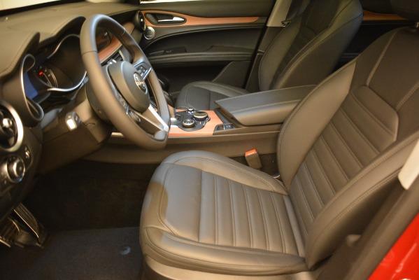 New 2018 Alfa Romeo Stelvio Ti Lusso Q4 for sale Sold at Bentley Greenwich in Greenwich CT 06830 14