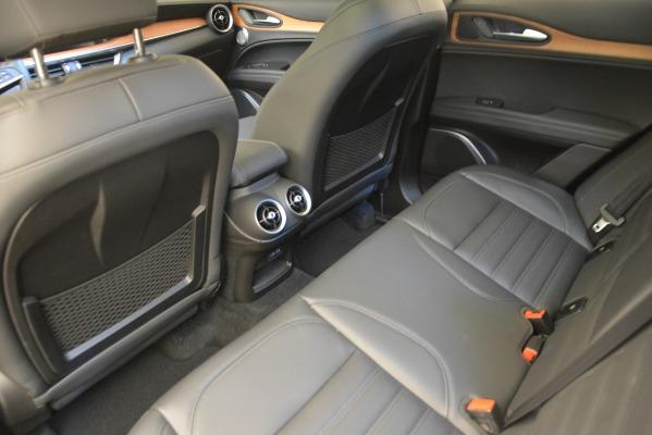 New 2018 Alfa Romeo Stelvio Ti Lusso Q4 for sale Sold at Bentley Greenwich in Greenwich CT 06830 18
