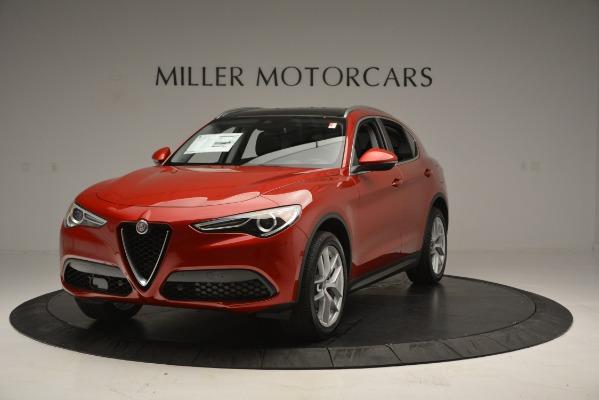 New 2018 Alfa Romeo Stelvio Ti Lusso Q4 for sale Sold at Bentley Greenwich in Greenwich CT 06830 2