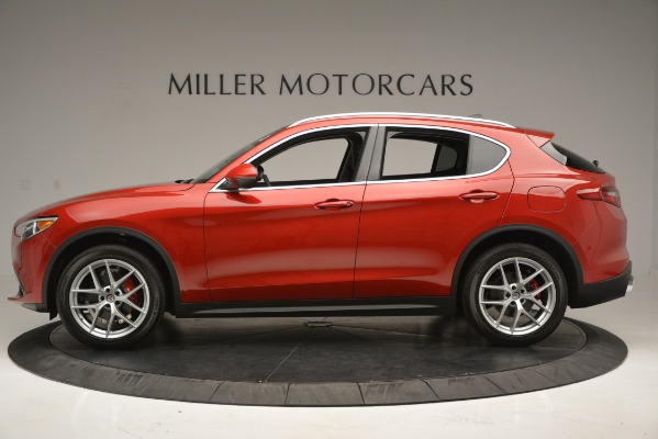 New 2018 Alfa Romeo Stelvio Ti Lusso Q4 for sale Sold at Bentley Greenwich in Greenwich CT 06830 4