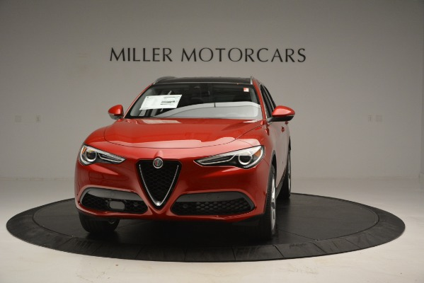 New 2018 Alfa Romeo Stelvio Ti Lusso Q4 for sale Sold at Bentley Greenwich in Greenwich CT 06830 1