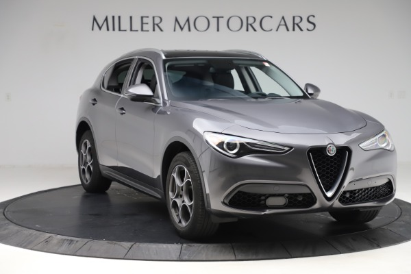 Used 2019 Alfa Romeo Stelvio Q4 for sale Sold at Bentley Greenwich in Greenwich CT 06830 11