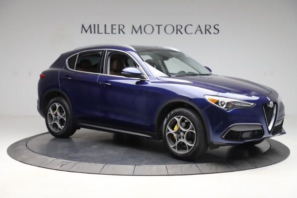 Used 2019 Alfa Romeo Stelvio Q4 for sale Sold at Bentley Greenwich in Greenwich CT 06830 10