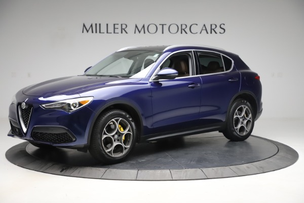 Used 2019 Alfa Romeo Stelvio Q4 for sale Sold at Bentley Greenwich in Greenwich CT 06830 2