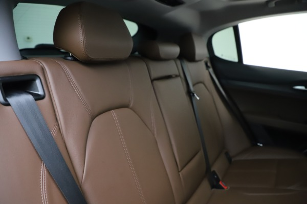 Used 2019 Alfa Romeo Stelvio Q4 for sale Sold at Bentley Greenwich in Greenwich CT 06830 26