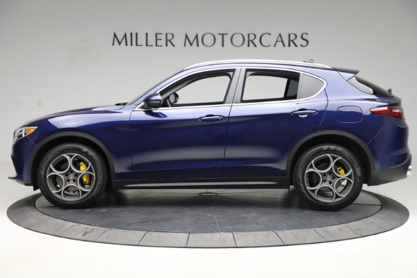 Used 2019 Alfa Romeo Stelvio Q4 for sale Sold at Bentley Greenwich in Greenwich CT 06830 3