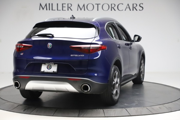 Used 2019 Alfa Romeo Stelvio Q4 for sale Sold at Bentley Greenwich in Greenwich CT 06830 7