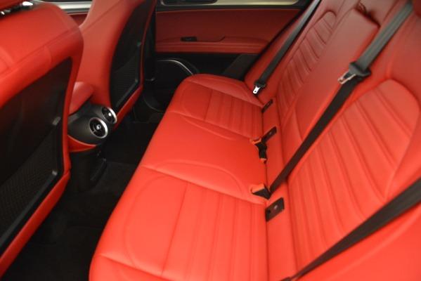 New 2019 Alfa Romeo Stelvio Ti Sport Q4 for sale Sold at Bentley Greenwich in Greenwich CT 06830 17