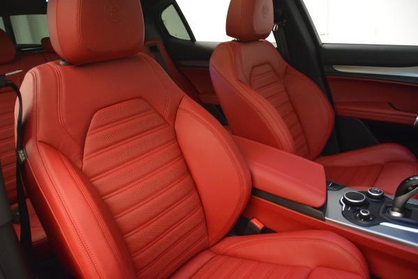 New 2019 Alfa Romeo Stelvio Ti Sport Q4 for sale Sold at Bentley Greenwich in Greenwich CT 06830 21