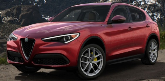 New 2018 Alfa Romeo Stelvio Ti Lusso Q4 for sale Sold at Bentley Greenwich in Greenwich CT 06830 1