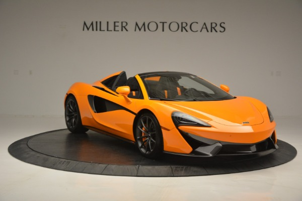 Used 2019 McLaren 570S SPIDER Convertible for sale $240,720 at Bentley Greenwich in Greenwich CT 06830 11