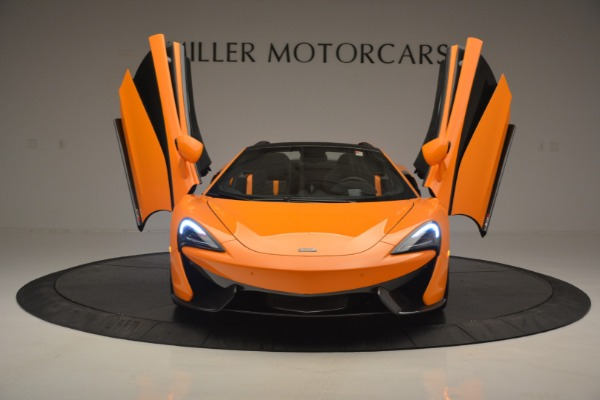 Used 2019 McLaren 570S Spider for sale Sold at Bentley Greenwich in Greenwich CT 06830 13