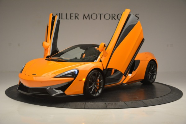 Used 2019 McLaren 570S SPIDER Convertible for sale $240,720 at Bentley Greenwich in Greenwich CT 06830 14