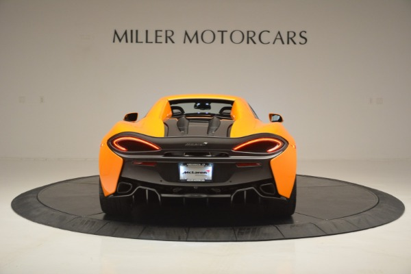 Used 2019 McLaren 570S SPIDER Convertible for sale $240,720 at Bentley Greenwich in Greenwich CT 06830 18