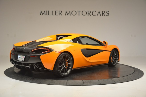 Used 2019 McLaren 570S SPIDER Convertible for sale $240,720 at Bentley Greenwich in Greenwich CT 06830 19
