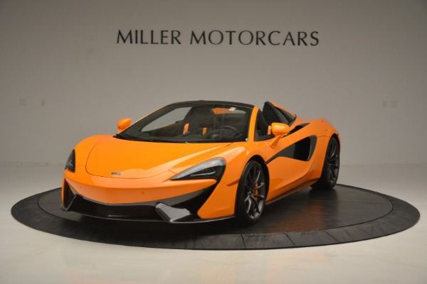 Used 2019 McLaren 570S SPIDER Convertible for sale $240,720 at Bentley Greenwich in Greenwich CT 06830 2