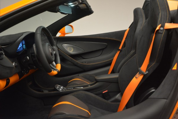 Used 2019 McLaren 570S SPIDER Convertible for sale $240,720 at Bentley Greenwich in Greenwich CT 06830 24