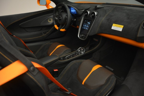 Used 2019 McLaren 570S SPIDER Convertible for sale $240,720 at Bentley Greenwich in Greenwich CT 06830 26