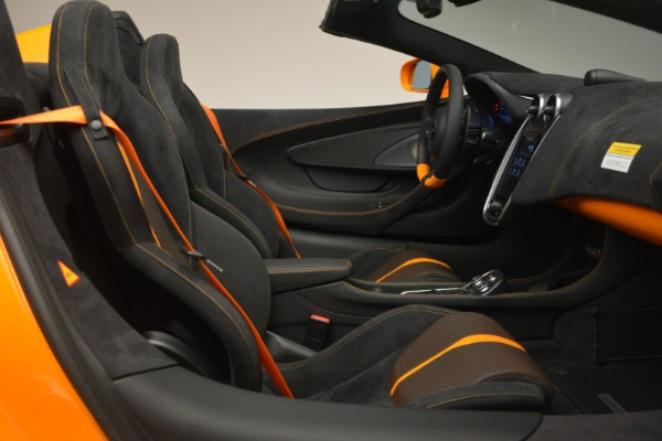 Used 2019 McLaren 570S Spider for sale Sold at Bentley Greenwich in Greenwich CT 06830 27
