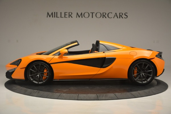 Used 2019 McLaren 570S Spider for sale Sold at Bentley Greenwich in Greenwich CT 06830 3