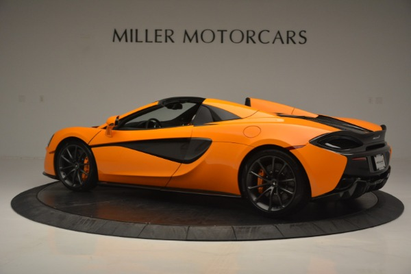Used 2019 McLaren 570S Spider for sale Sold at Bentley Greenwich in Greenwich CT 06830 4