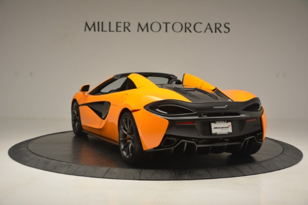 Used 2019 McLaren 570S Spider for sale Sold at Bentley Greenwich in Greenwich CT 06830 5