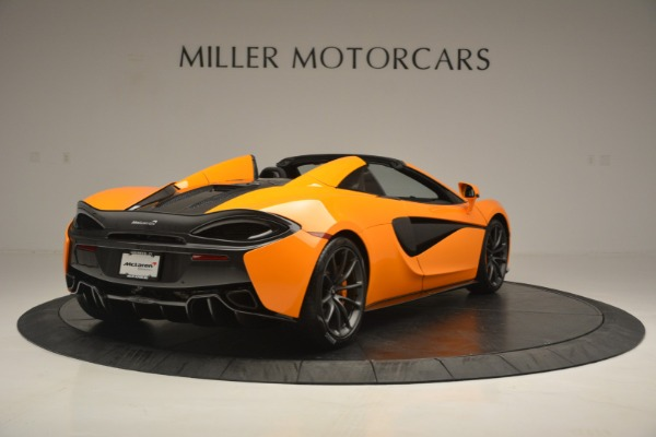 Used 2019 McLaren 570S Spider for sale Sold at Bentley Greenwich in Greenwich CT 06830 7