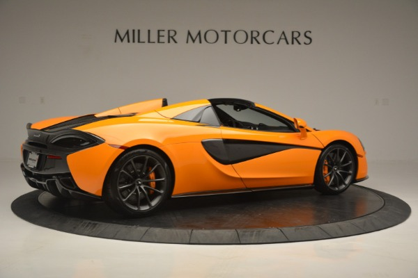 Used 2019 McLaren 570S Spider for sale Sold at Bentley Greenwich in Greenwich CT 06830 8