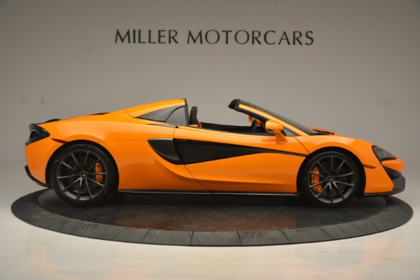 Used 2019 McLaren 570S Spider for sale Sold at Bentley Greenwich in Greenwich CT 06830 9