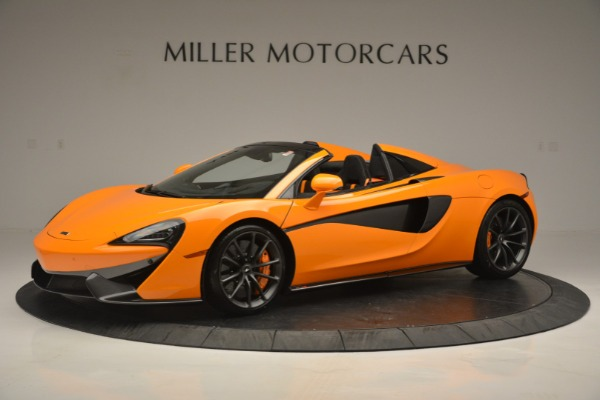 Used 2019 McLaren 570S Spider for sale Sold at Bentley Greenwich in Greenwich CT 06830 1