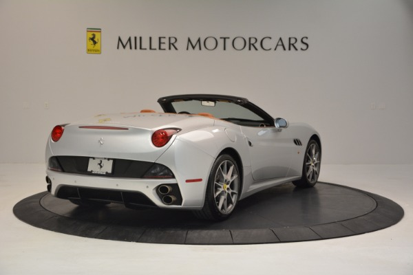 Used 2010 Ferrari California for sale Sold at Bentley Greenwich in Greenwich CT 06830 7