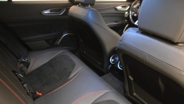 Used 2017 Alfa Romeo Giulia Quadrifoglio for sale Sold at Bentley Greenwich in Greenwich CT 06830 24