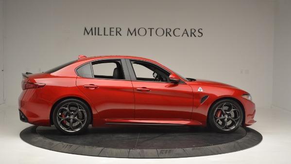 Used 2017 Alfa Romeo Giulia Quadrifoglio for sale Sold at Bentley Greenwich in Greenwich CT 06830 9