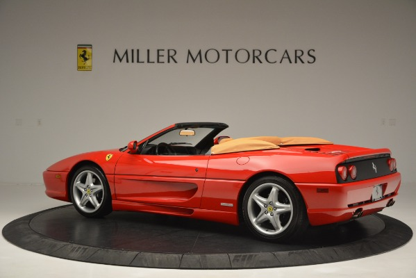 Used 1997 Ferrari 355 Spider 6-Speed Manual for sale Sold at Bentley Greenwich in Greenwich CT 06830 4