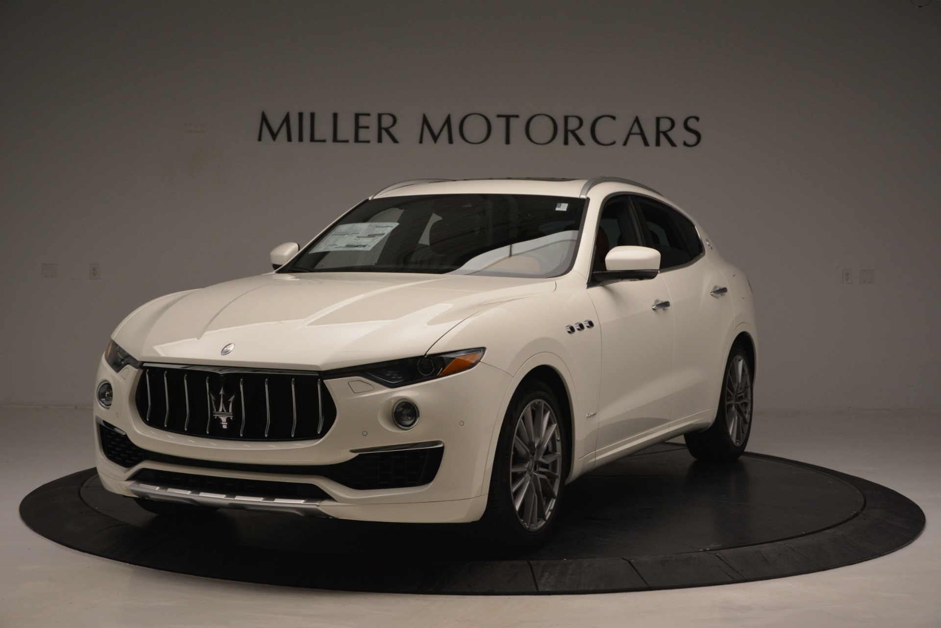New 2019 Maserati Levante Q4 GranLusso for sale Sold at Bentley Greenwich in Greenwich CT 06830 1