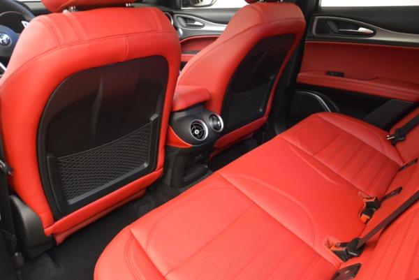New 2019 Alfa Romeo Stelvio Ti Sport Q4 for sale Sold at Bentley Greenwich in Greenwich CT 06830 16