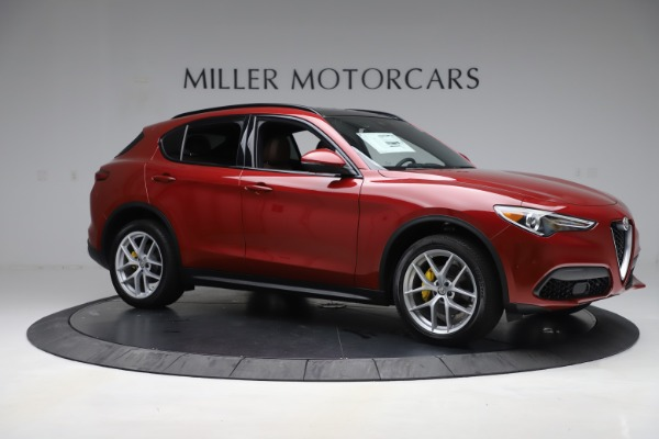 New 2019 Alfa Romeo Stelvio Ti Sport Q4 for sale Sold at Bentley Greenwich in Greenwich CT 06830 10