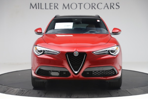 New 2019 Alfa Romeo Stelvio Ti Sport Q4 for sale Sold at Bentley Greenwich in Greenwich CT 06830 12