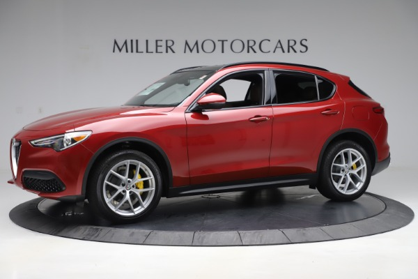 New 2019 Alfa Romeo Stelvio Ti Sport Q4 for sale Sold at Bentley Greenwich in Greenwich CT 06830 2