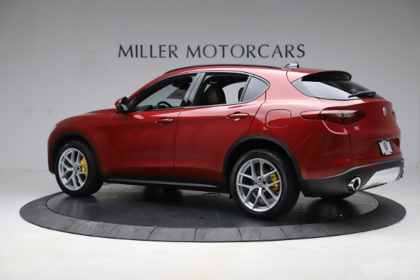 New 2019 Alfa Romeo Stelvio Ti Sport Q4 for sale Sold at Bentley Greenwich in Greenwich CT 06830 4