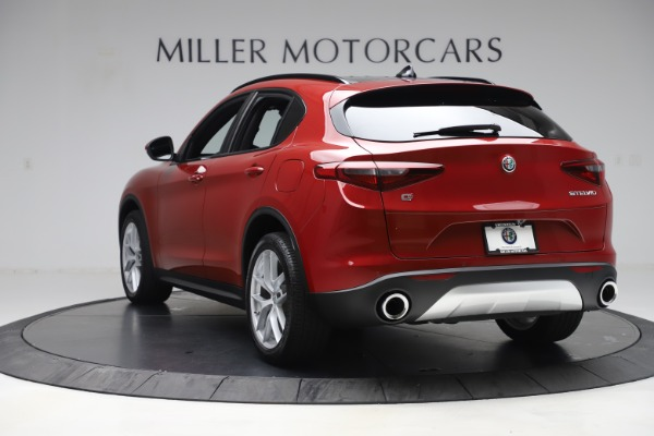 New 2019 Alfa Romeo Stelvio Ti Sport Q4 for sale Sold at Bentley Greenwich in Greenwich CT 06830 5