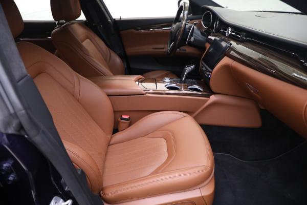 New 2019 Maserati Quattroporte S Q4 GranLusso for sale Sold at Bentley Greenwich in Greenwich CT 06830 21