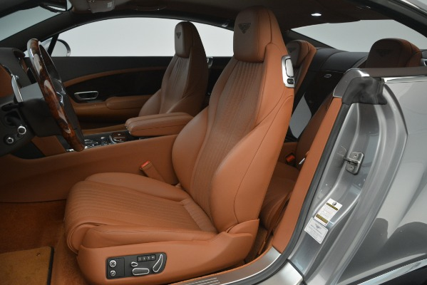 Used 2016 Bentley Continental GT W12 for sale Sold at Bentley Greenwich in Greenwich CT 06830 19