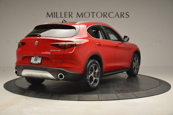 New 2019 Alfa Romeo Stelvio Q4 for sale Sold at Bentley Greenwich in Greenwich CT 06830 7