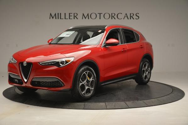New 2019 Alfa Romeo Stelvio Q4 for sale Sold at Bentley Greenwich in Greenwich CT 06830 1