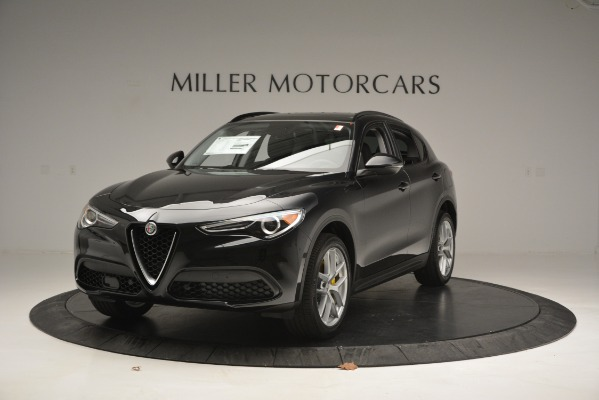 New 2019 Alfa Romeo Stelvio Sport Q4 for sale Sold at Bentley Greenwich in Greenwich CT 06830 1
