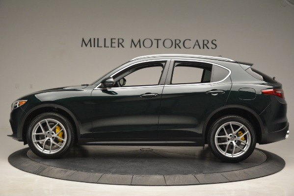New 2019 Alfa Romeo Stelvio Q4 for sale Sold at Bentley Greenwich in Greenwich CT 06830 3